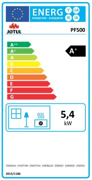 energielabel jotul pf500