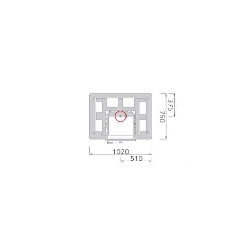 Tulikivi TTU 2700/4 plattegrond