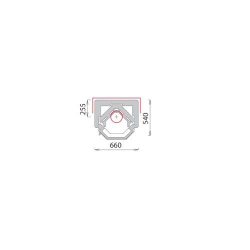 tulikivi speksteenkachel TU 930 plattegrond
